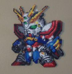 Perler God Gundam by HDorsettcase on DeviantArt