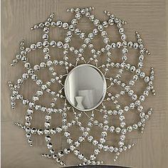 Sparkle and Shine Mirror from Midnight Velvet® Metal Wall Decor, Diy Wall Art, Starburst Mirror, Mirror Painting, Mirror Set, Diy Home Crafts, Diy Room Decor, Home Decor, Sparkle