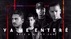 "Reik canta junto a Nicky Jam ""Ya me enteré""  #Agrupaciónmexicana #Músicalatina #nickyjam #Nuevotemamusical #Reik #Versiónurbana #Yameenteré http://us.emedemujer.com/trending/celebridades/reik-canta-junto-a-nicky-jam-ya-me-entere/"
