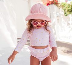 Sonny Canvas Hats Sand Pink Sundae Canvas Hat, Baby Girl Accessories, Sunset Sky, Two Piece Swimsuits, Girls Wear, Bellisima, Swimming, One Piece, Swimwear