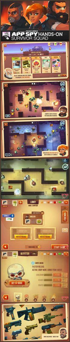 APP SPY - zombie survival game