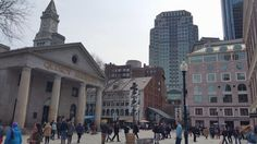 NYC to Boston: Read the story and see 6 photos of a visit to Boston, MA by TravelPod member joemurphy Quincy Market, April 5th, 6 Photos, In Boston, Sunday, United States, Street View, Nyc, The Unit