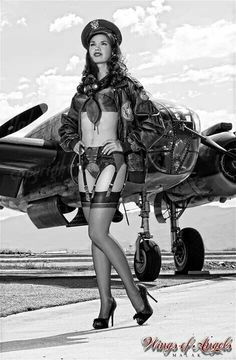 Pin-up and Plane