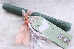 Handmade easter candle (lambada) Easter Ideas, Easter Crafts, Craft Stalls, Candels, Handmade Candles, Candle Making, Happy Easter, Diy And Crafts, Easter Candle