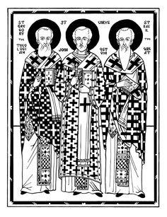 Announcing the Orthodox Illustration Project – Orthodox Arts Journal Catholic Crafts, Catholic Art, Religious Art, John Chrysostom, Modern Books, Byzantine Icons, Prayer Book, Orthodox Icons, Renaissance Art