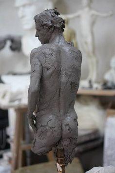 Christophe Charbonnel was born in Nantes in Sculptures Céramiques, Art Sculpture, Ceramic Sculptures, Hijab Mode, Art Du Monde, Body Sculpting, 3d Prints, Oeuvre D'art, Ceramics