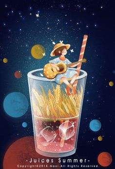 Gifs, Gif Animé, Animated Gif, Night Gif, Beautiful Gif, Aesthetic Gif, Cute Cartoon Wallpapers, Animation, Poster Design