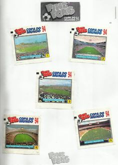 Ping Pong..94 Childhood Memories, World Cup, Trading Cards, Antique Toys, United States, Chewing Gum