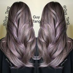 Silver Lilac By Guy Tang // Hair Artist