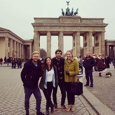 The Brandenburg Gate.  #germany #berlin #fourbestfriendsthatanyonecouldhave #eurotrip #travel #2014 by cnewman7