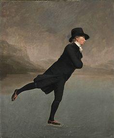 Sir Henry Raeburn - The Rev. Robert Walker Skating on Duddingston Loch - National Gallery of Scotland, Edinburgh, UK