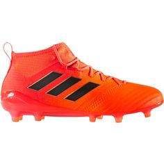 a3d739aa5 Adidas ACE 17.1 Primeknit FG Soccer Cleats Solar Orange-Core Black-Solar  Red Adidas
