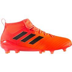 ea321930afbc Adidas ACE 17.1 Primeknit FG Soccer Cleats Solar Orange-Core Black-Solar  Red Adidas