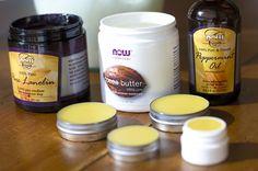 DIY Burt's Bees Lip Balm