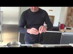 Oeuf poché aux champignons de JP Vigato (facile) - YouTube
