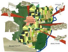 Julia Pfaller - Maps of German regions