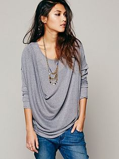 Love this drapey top