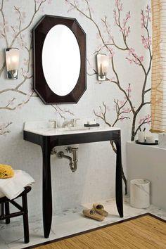 asian bathroom by ANN SACKS