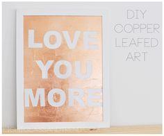for leftover copper leaf
