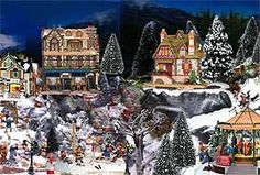 Winter Christmas Villages, History and Displaying: Christmas Village Displays