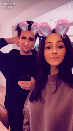 Sarah looks good in this picture, but then there is brendon in the background !<<<what do you mean, Brendon looks great Brendon Urie, Emo Bands, Music Bands, Dealing With Panic Attacks, Sarah Smiles, The Wombats, Dallon Weekes, Thing 1, Panic! At The Disco
