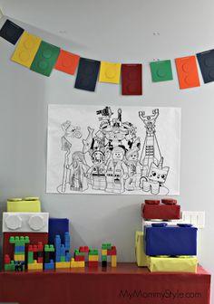 Lego+Party,+lego+movie+birthday+party,+legos,+lego+party+decorations