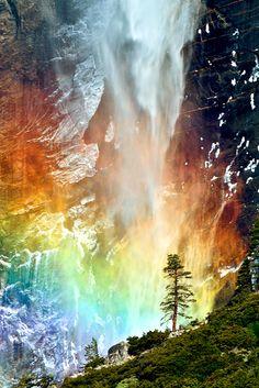 imalikshake:  Bridal Fall at Yosemite ByMengzhonghua