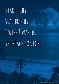The best sort of wish, is a beach wish. #beach.