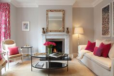 Interior Design Inspiration – Our portfolio showcases how we converted a Victorian terraced house into a spacious and luxurious family home. Fulham, West London, Interior Design Inspiration, Home And Family, Victorian, Mantels, Luxury, Marble, House