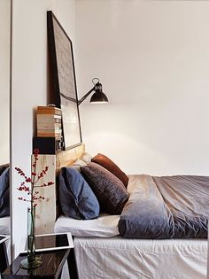 how to make up the bed, easy ideas