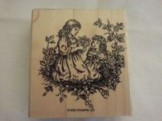Stampin-Up-1-Stamp-from-Tender-Toile-Set-Victorian-Girls-Garden-2002