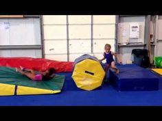 ▶ Superman handstand flat back vault drill - YouTube