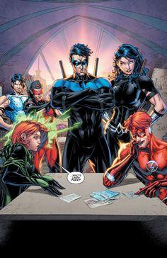 "Titans #1 - ""Run for you Life"" (2016)"