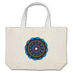 Circular Ornaments 4 Jumbo Tote Bag