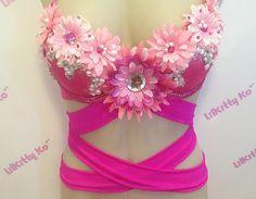 Flower bra