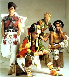 Culture Club c.1982 so cool, so dope, so fashion-forward styled by Vivienne Westwood