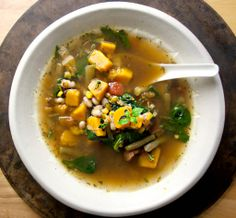 Produce On Parade - Fall Vegetable Soup with Butternut Squash