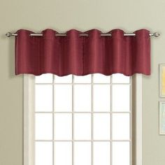United Curtain Mansfield Window Valance Spice - MANVASPC