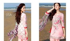 Embroidered Eid Lawn Printed Suiting 2016 by Charizma
