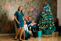 Family photography, christmas, decor, colors