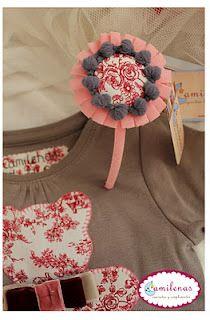 Adornos pelo on pinterest fabric flowers sevilla and tela - Como hacer adornos para el pelo ...