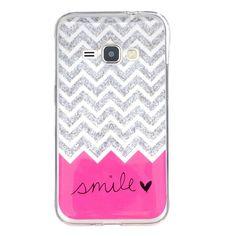 For Samsung Galaxy J1 (2016) J120F J120 Soft TPU Back Cover Case IMD TPU Case Protect Back Cover