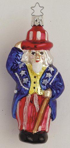 Inge Glas 2003#Christbaumschmuck#aus dem Hause Inge Glas.Weihnachtsbaumschmuck made in Germany mundgeblasen und von Hand bemalt bei www.gartenschaetze-online.de