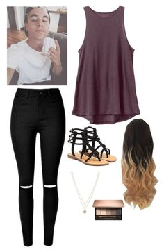 """Untitled #2945"" by if-i-were-famous1 ❤ liked on Polyvore featuring RVCA, Mystique and LC Lauren Conrad"
