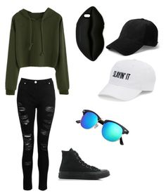 """""""Cool outfit"""" by kaitlynaubuchon on Polyvore featuring Dorothy Perkins, Converse, STELLA McCARTNEY, SO and rag & bone"""