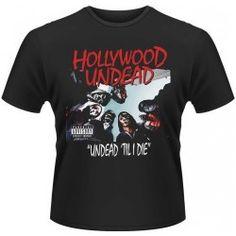 CAMISETA HOLLYWOOD UNDEAD - TIL I DIE XXL, el mejor precio, Alta calidad de impresión y acabado. Producto licenciado.