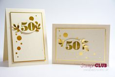 Stampin Up 50th anniversary morning post numbers goldene hochzeit 50. geburtstag from www.stampinclub.de