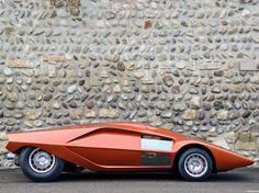 Cosas Únicas: Lancia Stratos HF Zero 1970