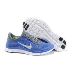 Nike Free 3.0 Blau Grau Frauen
