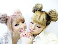 Amazing 1000 Images About Cute Fun Hairstyle On Pinterest Gyaru Gyaru Hairstyles For Men Maxibearus